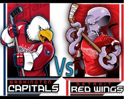 Washington Capitals vs Detroit Red Wings